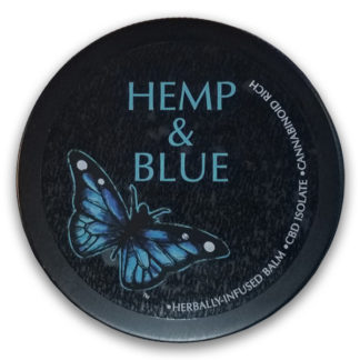 Hemp And Blue Balm 2oz Tin SKU number 752830612068