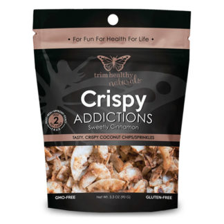 Image of THN Coconut Chips Crispy Addictions: Sweetly Cinnamon SKU# 752830208315 600x600 pixels