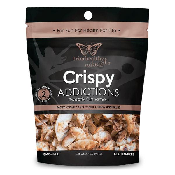 Image of THN Coconut Chips Crispy Addictions: Sweetly Cinnamon SKU# 752830208315 600x600 pixels