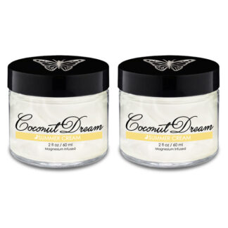 Image of Coconut Dream Cream 2oz 2-pk 600x600 pixels