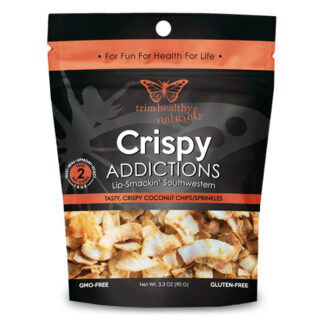 Image of Crispy Addictions: Lip-Smackin Southwestern Coconut Chips SKU#752830208216 600x600 pixels