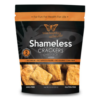 Image of THN Shameless Crackers: Cheesy Kick 3.3oz SKU# SC-CHSYKIK 600x600 pixels