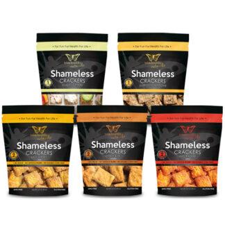 Image of Shameless Crackers Assortment 3.3oz 600x600 pixels