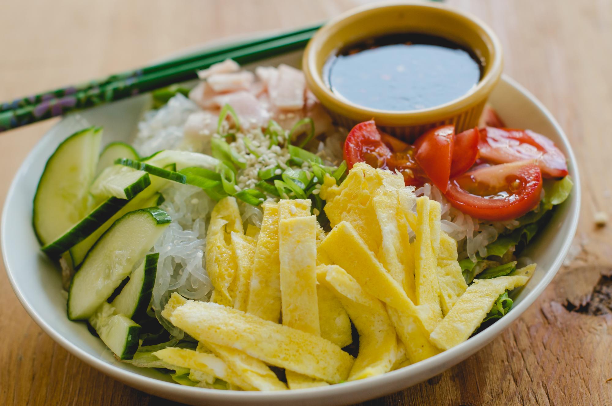 Asian Noodle Salad (S)