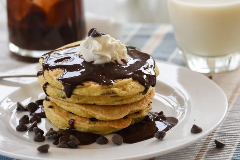 Chocolate Chip Pancakes (S)