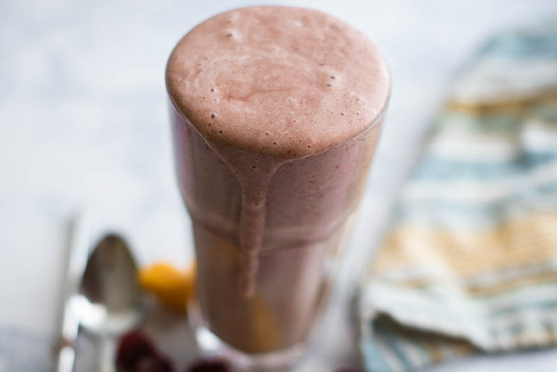 Decadent Cherry-Mango Shake (E)